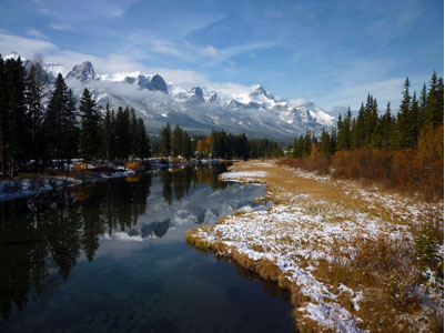 Canmore Mountains and Rivers